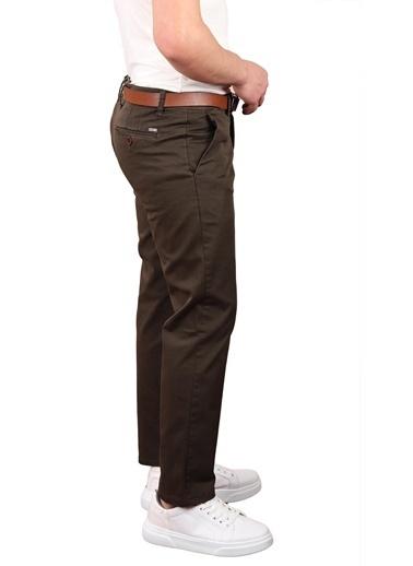 Twister Regular Fıt Kemerli Erkek Pantolon (Startogo464) Lacivert